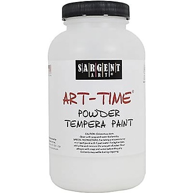 Sargent Art® Art-Time® 1 lbs. Powder Tempera Paint, White
