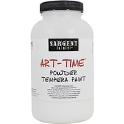 Sargent Art Art-Time Non-Toxic 1 lb. Tempera Paint, White (22-7196)