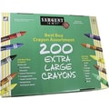 Sargent Art® Best Buy Extra Large Crayon Value Pack, 200/Box