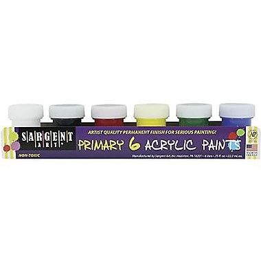 Sargent Art® 0.75 oz. Traditional Acrylic Paint Set, Assorted