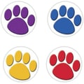 Teacher Created Resources® Colorful Paw Prints Wear 'Em Badges
