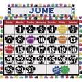 Teacher Created Resources® Calendar Bulletin Board Display Set, Colorful Paw Prints
