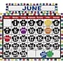 Teacher Created Resources Calendar Bulletin Board Display Set,