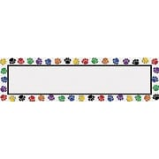 Teacher Created Resources® Headliner, Colorful Paw Prints