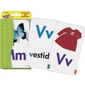 Trend Enterprises® Pocket Flash Card, Alphabet and Picture Words