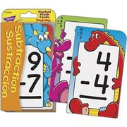 Trend Enterprises® Pocket Flash Card, Subtraction