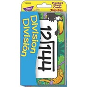 Trend Enterprises® Pocket Flash Card, Division