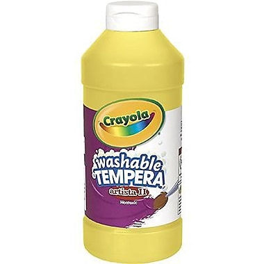 Crayola® Artista ll® 16 oz. Liquid Tempera Paint, Yellow