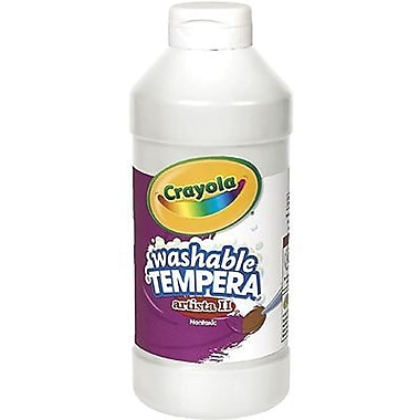 Crayola® Artista ll® 16 oz. Liquid Tempera Paint, White