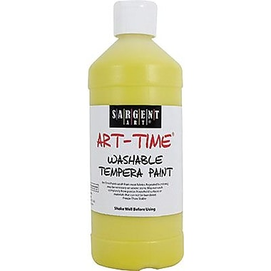 Sargent Art® Art-Time® 16 oz. Washable Tempera Paint, Yellow