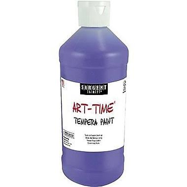Sargent Art® Art-Time® 16 oz. Washable Tempera Paint, Violet