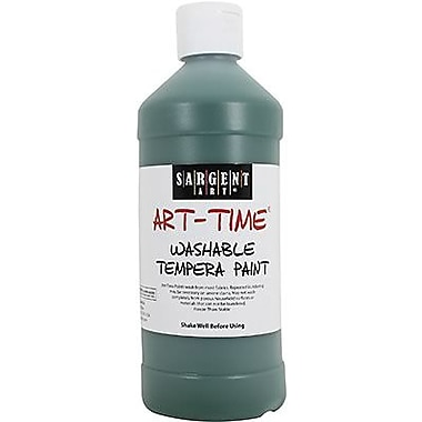 Sargent Art® Art-Time® 16 oz. Washable Tempera Paint, Green