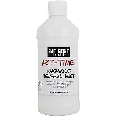 Sargent Art® Art-Time® 16 oz. Washable Tempera Paint, White
