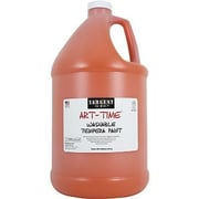 Sargent Art Art-Time Non-toxic 128 oz. Washable Tempera Paint, Orange (SAR223614)