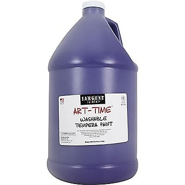 Sargent Art® Art-Time® 128 oz. Washable Tempera Paint, Violet