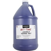 Sargent Art Art-Time Non-toxic 128 oz. Washable Tempera Paint, Blue (SAR223650)