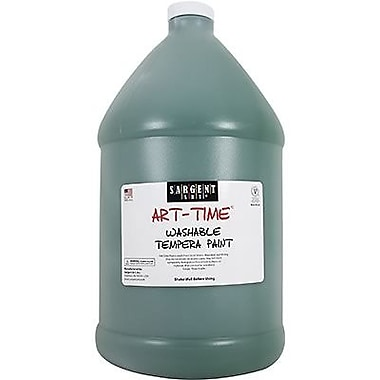 Sargent Art Art-Time Non-toxic 128 oz. Washable Tempera Paint, Green (SAR223666)
