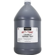 Sargent Art® Art-Time® 128 oz. Washable Tempera Paint, Black