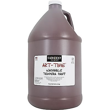 Sargent Art® Art-Time® 128 oz. Washable Tempera Paint, Brown