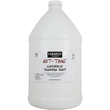 Sargent Art® Art-Time® 128 oz. Washable Tempera Paint, White