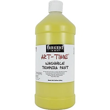 Sargent Art® Art-Time® 32 oz. Washable Tempera Paint, Yellow