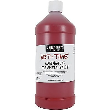 Sargent Art® Art-Time® 32 oz. Washable Tempera Paint, Red
