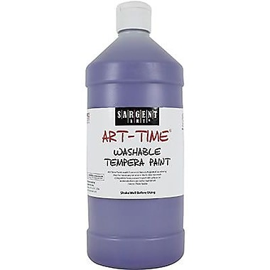 Sargent Art® Art-Time® 32 oz. Washable Tempera Paint, Violet