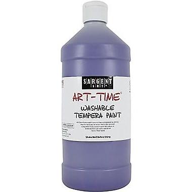 Sargent Art® Art-Time® 32 oz. Washable Tempera Paint, Violet