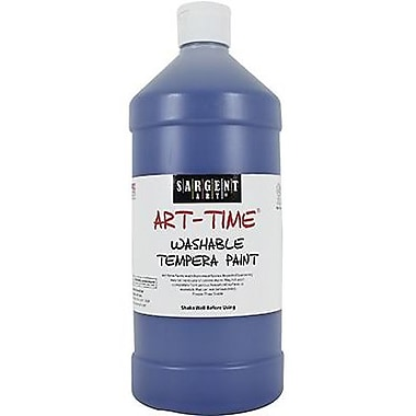 Sargent Art® Art-Time® 32 oz. Washable Tempera Paint, Blue