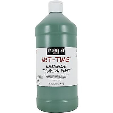 Sargent Art® Art-Time® 32 oz. Washable Tempera Paint, Green