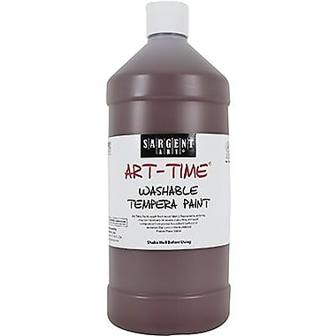 Sargent Art® Art-Time® 32 oz. Washable Tempera Paint, Brown