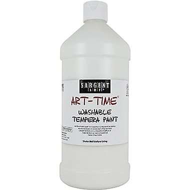 Sargent Art® Art-Time® 32 oz. Washable Tempera Paint, White