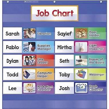 Teacher's Friend® Class Jobs Pocket Chart