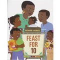 Houghton Mifflin® Harcourt Feast For 10 Carry Along Book and CD By Cathryn Falwell, Grades P-3rd