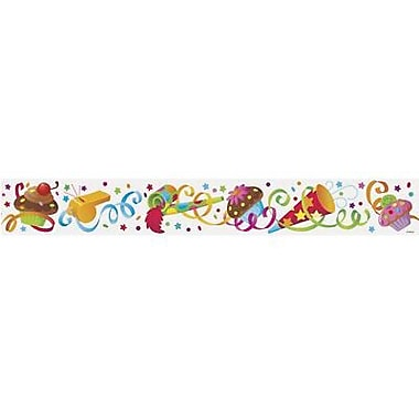 Trend Enterprises® Pre Kindergarten - 9th Grades Bulletin Board Border, Party Time Birthday