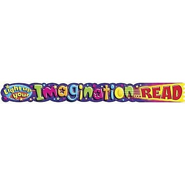 Trend Enterprises® 1st - 9th Grades Banner, Light Up Your Imagination Read
