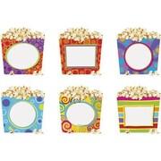 "TREND T-10972 6"" DieCut Popcorn Time Classic Accents, Multicolor"