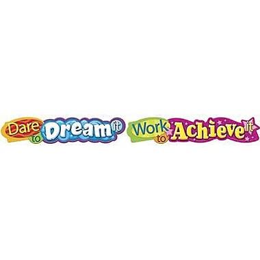 Trend Enterprises® 1st - 9th Grades Banner, Dare To Dream It