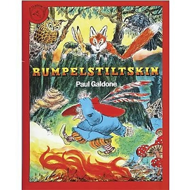 Houghton Mifflin® Harcourt Rumpelstiltskin Carry Along Book and CD Set By Paul Galdone, Grades P-3rd