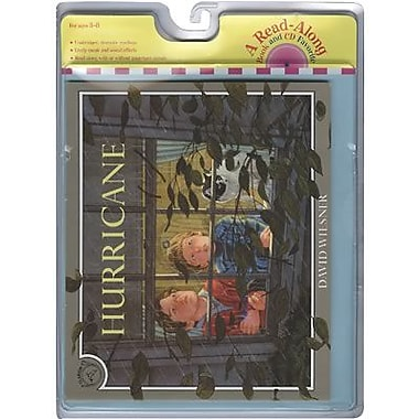 Houghton Mifflin® Harcourt Hurricane Carry Along Book and CD Set By David Wiesner, Grades P-3rd
