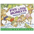 Houghton Mifflin® Harcourt Five Little Monkeys Sitting  Tree Carry Along Book & CD Set, Grades P-3rd