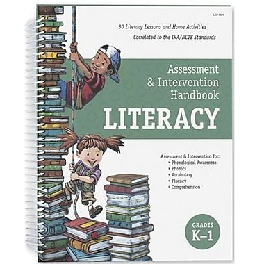 Learning Resources® Literacy Assessment Handbook, Grades Kindergarten - 1st