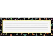 Creative Teaching Press™ Infant - 6th Grades Name Plate, Dots On Black
