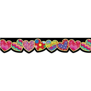 Creative Teaching Press™ preschool - 12th Grades Bulletin Board Border, Heart-to-Heart