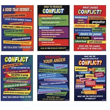 Didax® Conflict Resolution Poster Set