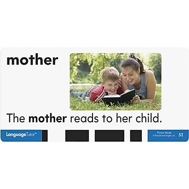Educational Insights® Picture Words Card Set, Grades Pre Kindergarten -3rd
