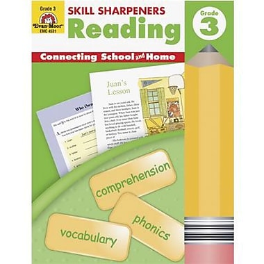 Evan-Moor® Skill Sharpeners Reading Book, Grades 3rd