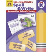 Evan-Moor® Skill Sharpeners Spell and Write Book, Grades Pre School - Kindergarten