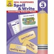 Evan-Moor® Skill Sharpeners Spell and Write Book, Grades 3rd