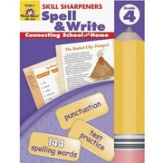 Evan-Moor® Skill Sharpeners Spell and Write Book, Grades 4th